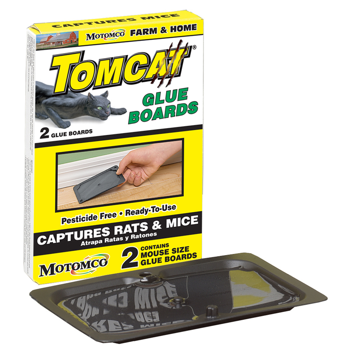 Tomcat Glue Boards Mice Barmac Pty Ltd